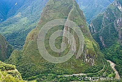 Urubamba River at Machu Picchu, Peru