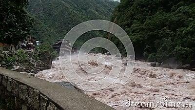 Urubamba rzeka zbiory wideo