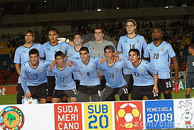 Uruguay team Editorial Image