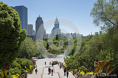 Urumqi city views Editorial Stock Photo