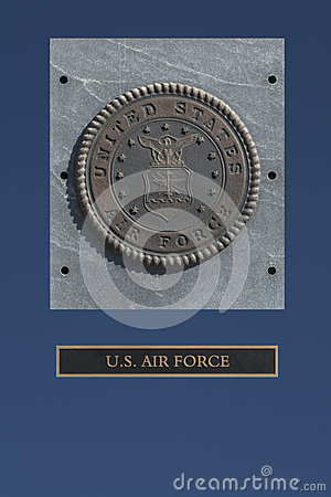 US Air Force Emblem Stock Photography - Image: 27429582