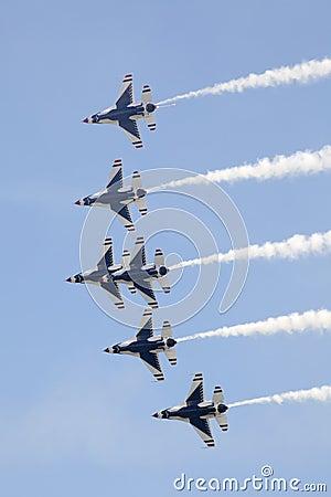 US Air Force Thunderbirds Editorial Photography