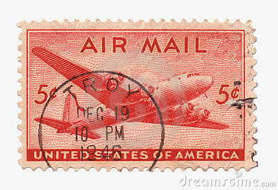 Us Air Mail Stamp
