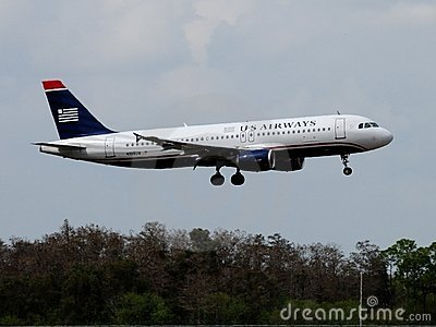 US Airways Airbus A320-214 Editorial Photo