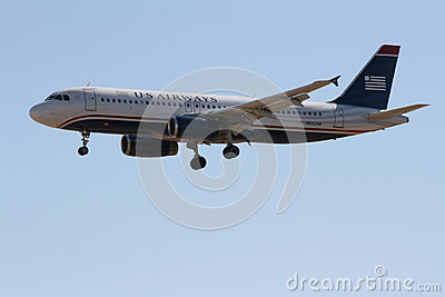 US Airways Airbus A320 Editorial Photo