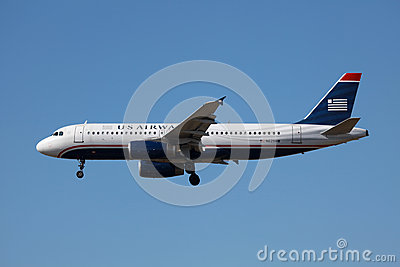 US Airways Airbus A320 Editorial Stock Photo