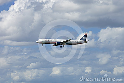 US Airways Passenger Jet Airliner Editorial Photo