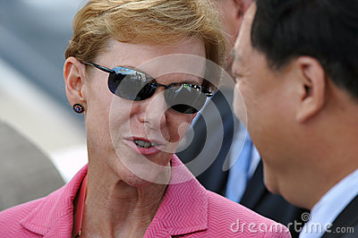 US Ambassador to Thailand Kristie Kenney Editorial Stock Image