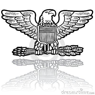 US Army eagle insignia