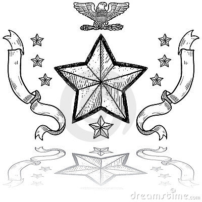 US Army Insignia with Wreath