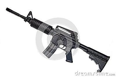 US Army M4A1 rifle.