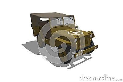 US Army WW2 Jeep
