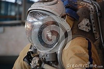 US Astronaut Michael Barratt After Training Editorial Photo