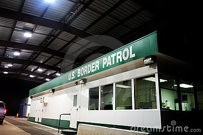 US Border Patrol Building