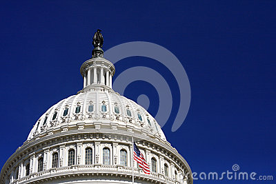 The US Capitol Building Dome