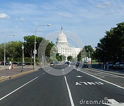 US Capitol building , Washington DC