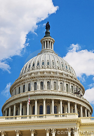 Free US Capitol Dome Royalty Free Stock Photos - 17269368