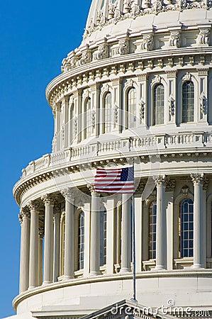 US Capitol dome detal