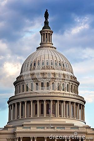 Free US Capitol Dome Houses Of Congress Washington DC Royalty Free Stock Photos - 29051888