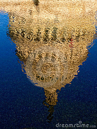 US Capitol Dome Reflection