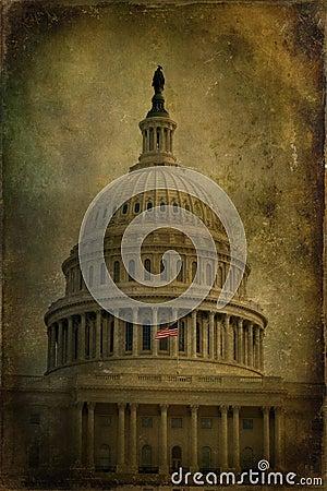 US Capitol Textured