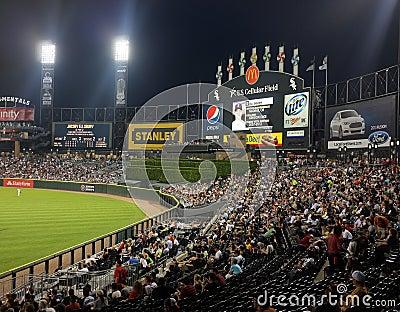 US Cellular Baseball Field Editorial Photo
