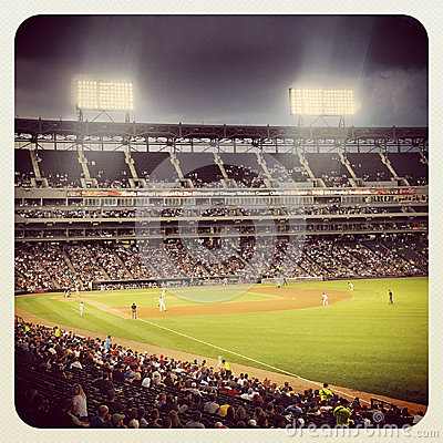 US Cellular Baseball Field Editorial Stock Image