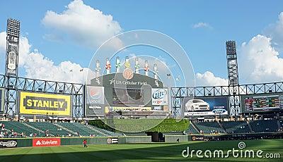 US Cellular Baseball Field Editorial Stock Photo