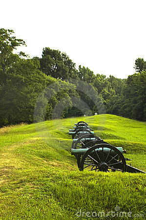 Free US Civil War Cannons Royalty Free Stock Photos - 4692378