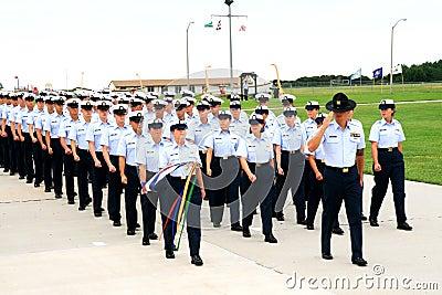 US Coast Guard Graduation Editorial Photo