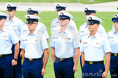 US Coast Guard Graduation Editorial Photo