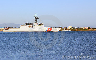 US Coast Guard Patrol Ship Editorial Photo
