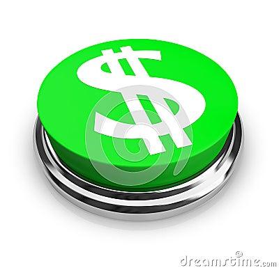 Free US Dollar Symbol - Button Royalty Free Stock Photos - 9234928