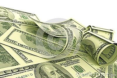 US Dollars notes