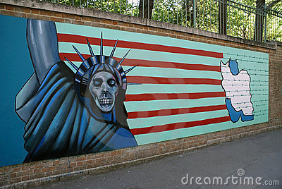 US Embassy in Tehran Editorial Photography