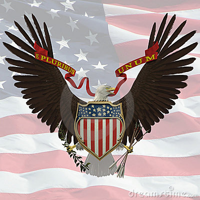 Free US Emblem Royalty Free Stock Photo - 491745
