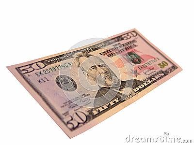 US Fifty Dollar Bills