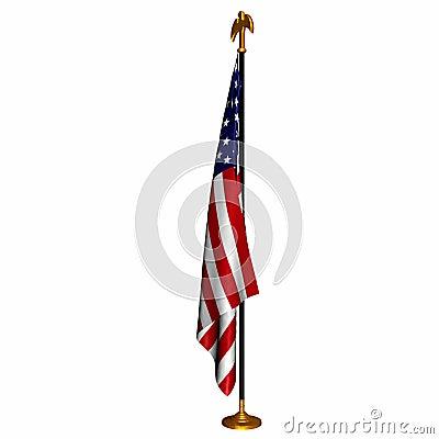 Free US Flag 1 Royalty Free Stock Photo - 1414325