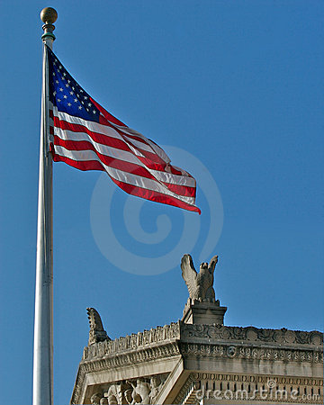 US Flag and National Archives
