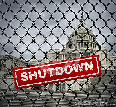 Free US Government Shutdown Royalty Free Stock Photos - 137218598