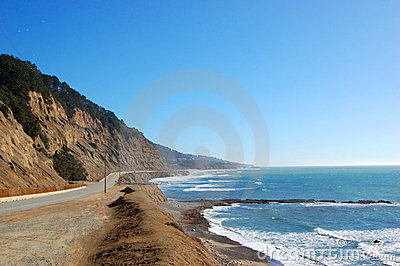 US Highway One in California