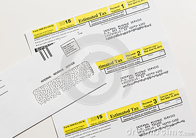 US IRS Tax Form 1040ES Editorial Image Image 51606294 – Estimated Tax Form