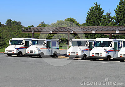 US Mail Trucks