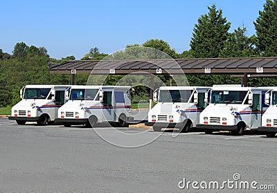 US Mail Trucks