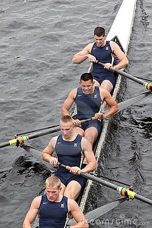 US Naval Academy Rowing Editorial Photo