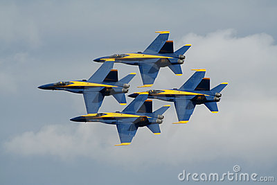 US Navy Blue Angels Editorial Image