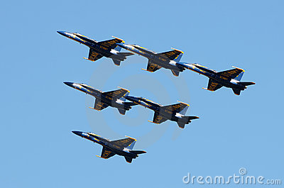 US Navy Blue angels Editorial Stock Image