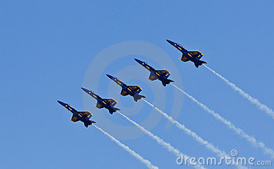 US Navy Demonstration Squadron Blue angels Editorial Stock Photo