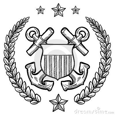 US Navy Insignia with wreath