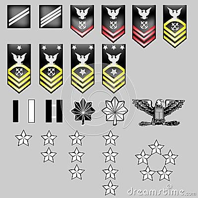 navy rank insignia